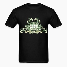 042016_born_in_the_year_2015c T-Shirts
