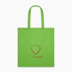El Corazon, Tote Bag