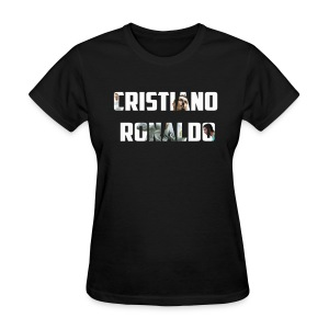 Cristiano Ronaldo Female T-Shirt - Women's T-Shirt