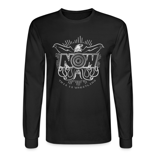 NOW Eagle long sleeve tee - Men's Long Sleeve T-Shirt