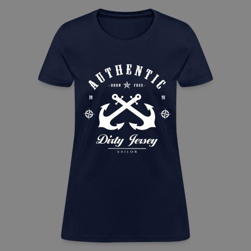 Women's Dirty jersey Sailor T-Shirt - Women's T-Shirt