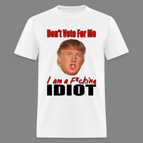 Men's Dont VoteTrump T-Shirt - Men's T-Shirt