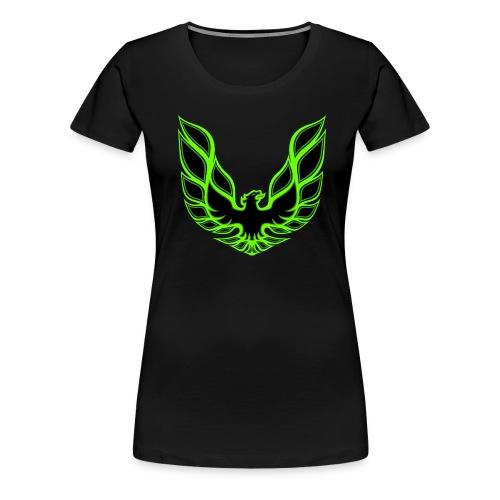 Women's T-Shirt w/ Large Logo - Women's Premium T-Shirt