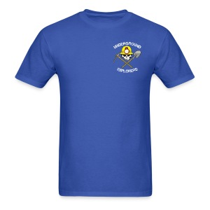 Underground Explorers Royal Blue Logo Tee - Men's T-Shirt