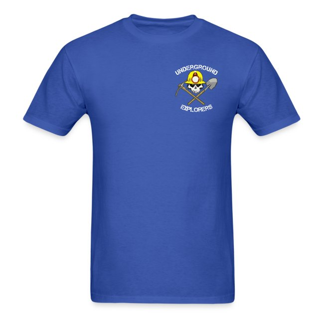 Underground Explorers Royal Blue Logo Tee