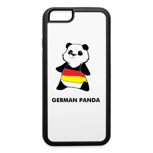 German Panda Icon Phone Case - iPhone 6/6s Rubber Case