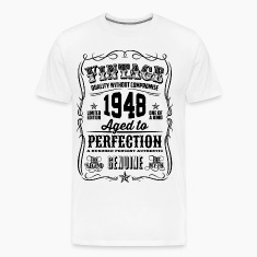 Vintage 1948 Aged to Perfection 68th Birthday gif