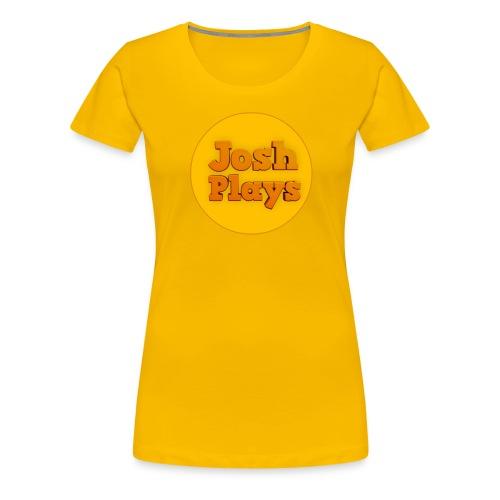 Josh Plays Logo (Wmn) - Women's Premium T-Shirt