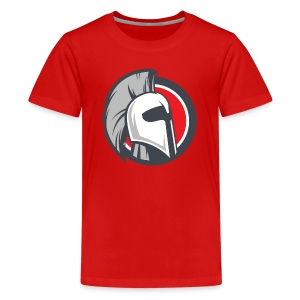 Ares White Shirt - Kids - Kids' Premium T-Shirt