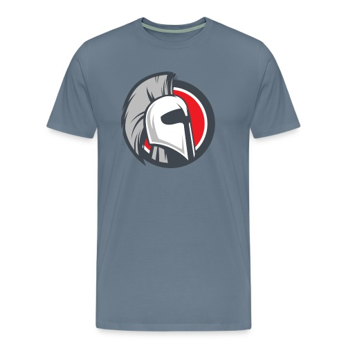 Ares Blue Shirt - Mens - Men's Premium T-Shirt