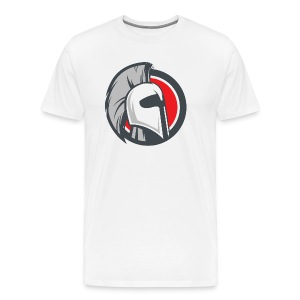 Ares White Shirt - Mens - Men's Premium T-Shirt