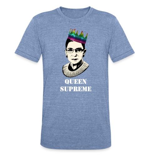 Queen Supreme Pride Unisex T-Shirt - Unisex Tri-Blend T-Shirt