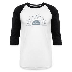 716 Renaissance Rising Raglan (Silver) - Baseball T-Shirt