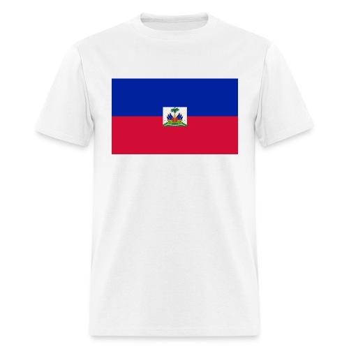 HAITIAN FLAG - Men's T-Shirt