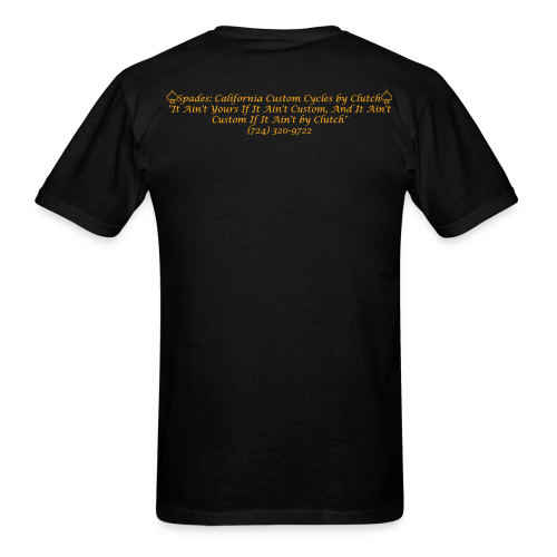 If It Aint Custom T-Shirt (Black) - Men's T-Shirt