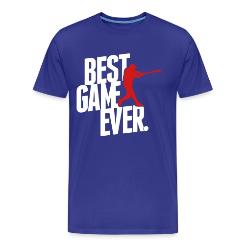 Best Game Ever Baseball T-Shirt - Men's Premium T-Shirt