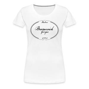 Brunswick, Georgia Women's T-shirt - Women's Premium T-Shirt