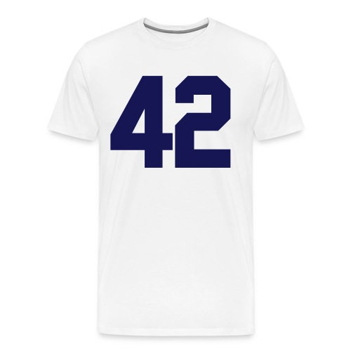 42 Baseball T-Shirt - Men's Premium T-Shirt