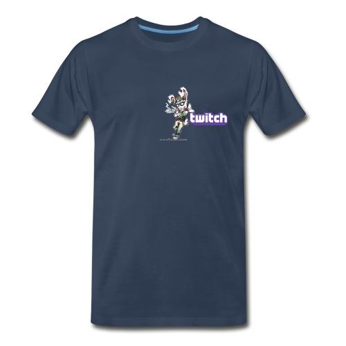 Men's Premium T-Shirt SLK Logo Twitch - Men's Premium T-Shirt