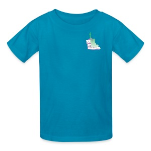 Lady Liberty Is An Immigrant, F&B - Kids' T-Shirt