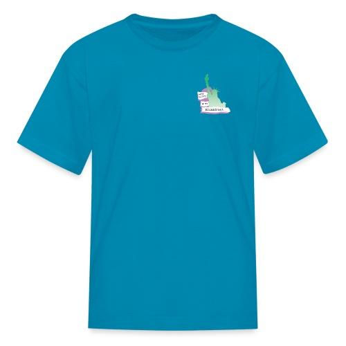 Lady Liberty Is An Immigrant, F&B - Kids' T-Shirt