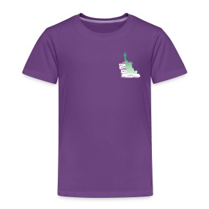Lady Liberty Is An Immigrant, F&B - Toddler Premium T-Shirt