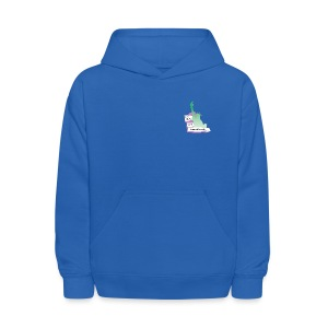 Lady Liberty Is An Immigrant, F&B - Kids' Hoodie