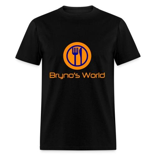 Bryno's World Alternate Logo T-Shirt - Men's T-Shirt