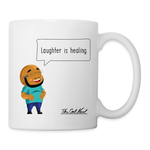 Laughter is Healing Mug - Coffee/Tea Mug