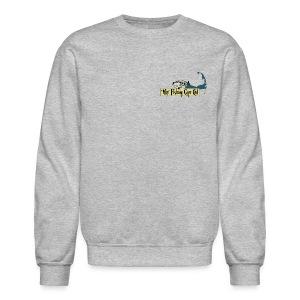 Women's Crew Neck Sweatshirt - Grey - Crewneck Sweatshirt