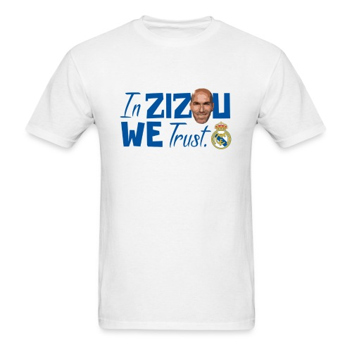 Zidane Fan T-shirt - Men's T-Shirt