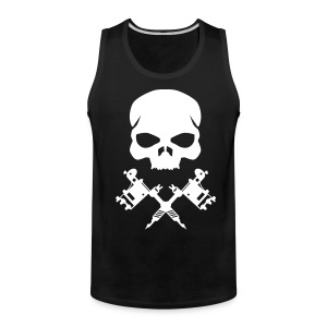 skull and machines - Men's Premium Tank