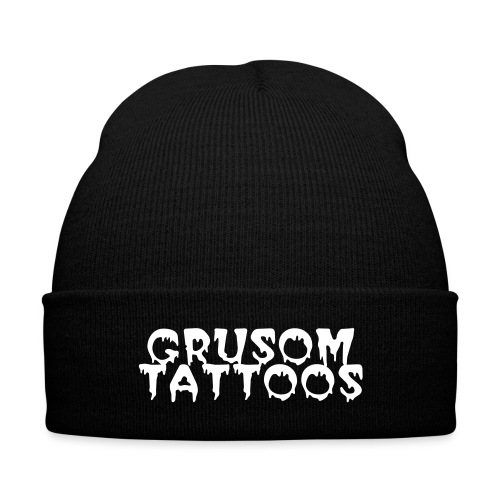 grusom - Knit Cap with Cuff Print