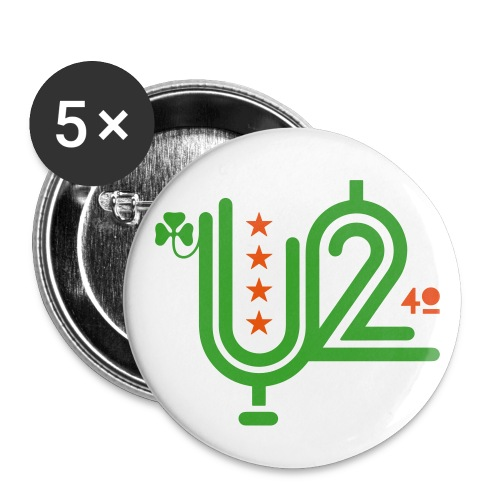 U+2=40 - 56mm (2,25) - Buttons large 2.2'' (5-pack)