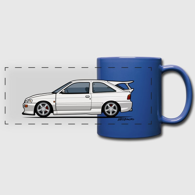 Ford Escort Mark V RS Cosworth Mugs & Drinkware - Full Color Panoramic Mug