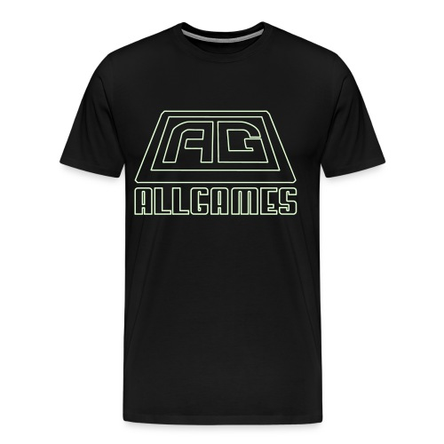 Glow in the Dark AllGames - Men's Premium T-Shirt