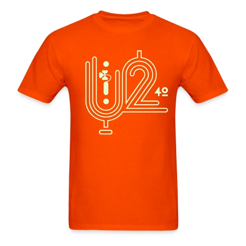 U+2=40 - front print glow - s/5xl - multi colors - Men's T-Shirt