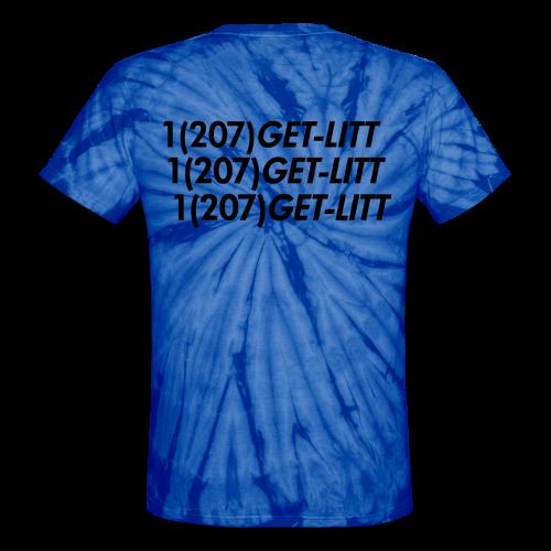 Tie-Dye Multi-Logo Tee - Unisex Tie Dye T-Shirt