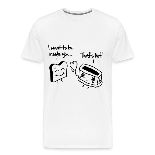 Toaster love  - Men's Premium T-Shirt