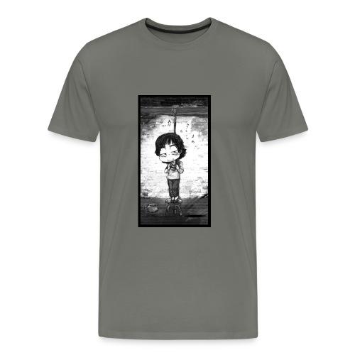 suicide girl T-Shirts - Men's Premium T-Shirt