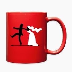 game over bride and groom wedding stag night Mugs & Drinkware