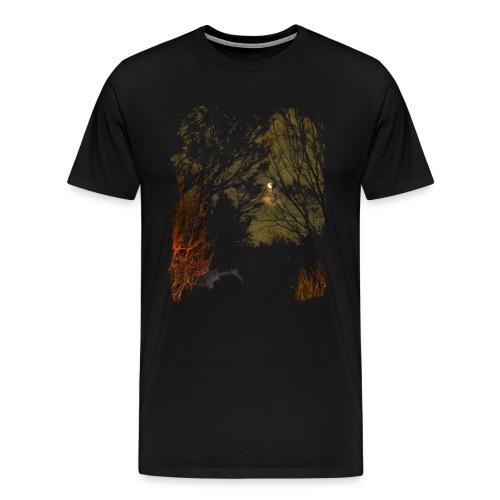 Haunted Skies 2 - Men's Premium T-Shirt