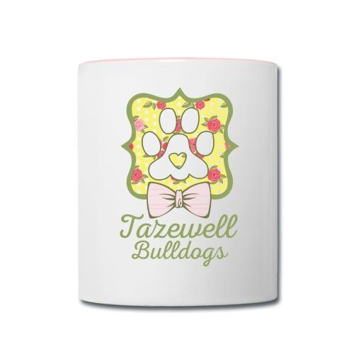 Tazewell Bulldogs - Contrast Coffee Mug
