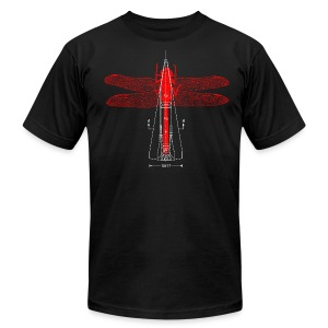 [dragonflyrocket] - Men's Fine Jersey T-Shirt