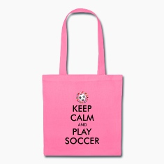 KEEP CALM and PLAY FOOTBALL 2016 Bags & backpacks