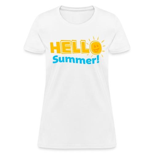HELLO SUMMER - Women's T-Shirt