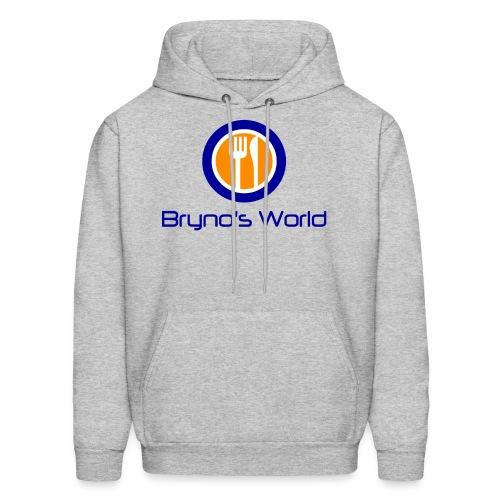Bryno's World Logo Hoodie - Men's Hoodie