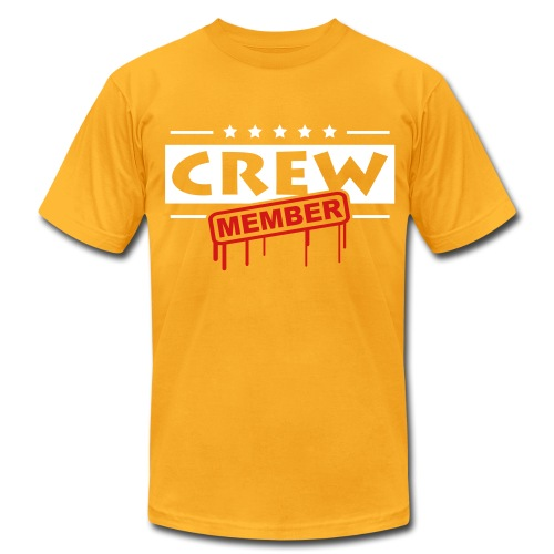 CREW MEMBER - Men's Fine Jersey T-Shirt