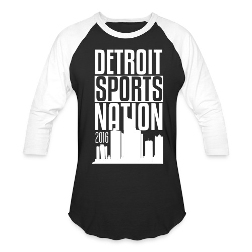 Baseball longsleeve white logo - Baseball T-Shirt
