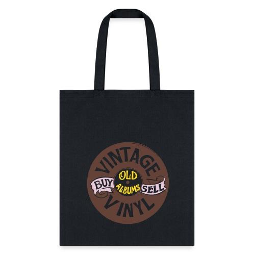 Vintage Vinyl,Tote Bag  - Tote Bag